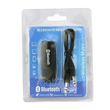 3.5mm Stereo Audio Music Speaker Receiver Adapter Dongle USB Bluetooth Wireless