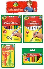 My First Crayola Bundles Easy Grip Jumbo Crayons, Pencils, Markers, 2 Scissors
