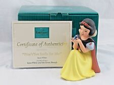 "WDCC ""Won't You Smile For Me"" Snow White 65th Anniversary in Box with COA"