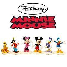 Mickey & Minnie Disney Character Action Figure Display Cake Topper Decor Kid Toy