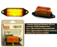 Amber Submersible Clearance Light,Boat/Cargo Trailer 6 LED Light Bulb Lamp,New