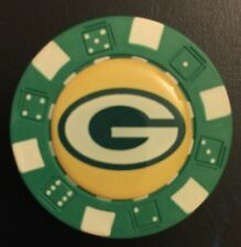 Green bay Packers POKER Weight CHIP CARD GUARD WSOP, Texas Holdem, Poker Chips