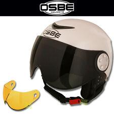 OSBE Skihelm Snowboardhelm Ski Helm Force 2 weiss pearl