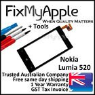 Nokia Lumia 520 Glass Touch Screen Digitizer Front Panel New Replacement Tools
