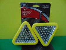 2 New Auto Drive 39 LED Magnetic or Hook Emergency Lights 96645W