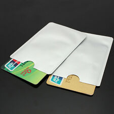 Wholesale 10Pcs RFID Protector Sleeves Secure Credit Card Holder Blocking Case