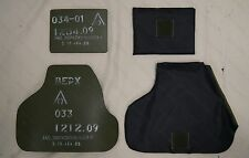 6B23-1STEEL PLATES RUSSIAN ARMY BODY ARMOR REAL TACTICAL BULLETPROOF VEST SHIELD