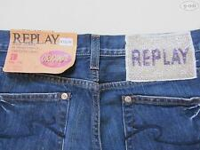 Replay WV 545 WV545 Damen Jeans Hose W 28 /L 32, NEU ! Straight Fit Denim, RAR !