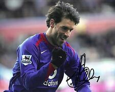 Ruud van Nistelrooy Signed 10X8 Photo Manchester United F.C. AFTAL COA (1275)