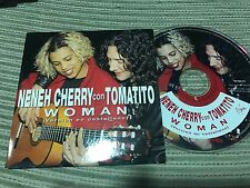 NENEH CHERRY & TOMATITO SUNG IN SPANISH CD SINGLE SPAIN 1 TRACK PROMO WOMAN CARD