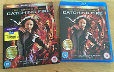 The Hunger Games - Catching Fire BLU-RAY with sleeve - Jennifer Lawrence