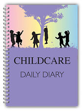 A5 DAILY DIARY CHILDCARE/EYFS/LOG BOOK/DAILY RECORD RING BOUND PLAYING