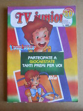 TV JUNIOR n°30  1982 Galaxy 1999 Tom Sawyer ed. ERI RAI  [G419A]