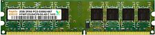 2gb ddr2 ram hynix / Kingston for desktop ORIGINAL  SEALED PACK 3 YEARS WARRENTY