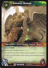General Husam-121/202-Tomb of the Forgotten-Aftermath-New-WoW Card-French Vers.