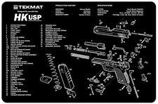 Heckler & Koch HK USP USP 45  Armorers Gun Cleaning Bench Mat