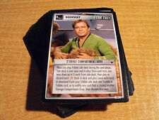 STAR TREK CCG TROUBLE WITH TRIBBLES COMMON SET