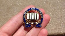 WW2 US ARMY 7th Infantry Regiment DUI DI INSIGNIA MEYER SB PIN CREST Military