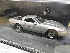 CHEVROLET Corvette A view to a kill 007 James Bond TV Movie IXO Altaya SP 1:43