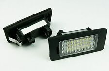 LED NUMBER PLATE LICENSE PANEL LIGHT LAMP BMW E90 E39 E60