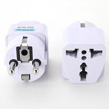 Universal US AU to EU AC Power Socket Plug Travel Charger Adapter Converter B
