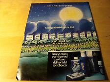 PUBBLICITA' ADVERTISING WERBUNG 1979 FELCE AZZURRA PAGLIERI (G47)