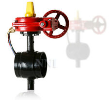"4"" GROOVED BUTTERFLY FIRE PROTECTION VALVE WITH TAMPER SWITCH"