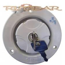 Locking Water Filler Fiamma White. Fit water tank Caravan poptop Coromal jayco