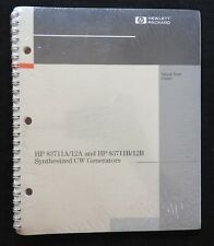 HEWLETT PACKARD HP 83711A 83712A 8311B 12B SYNTHESIZED CW GENERATOR GUIDE MANUAL