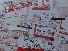 HELLO KITTY MEMO Note Paper kawaii stationery gift girl her stationary sanrio