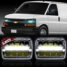 LED Headlight Sealed Beam Headlamp for Chevy Express Cargo Van 1500 2500 3500
