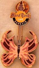 Hard Rock Cafe BAHRAIN 2004 BUTTERFLY Guitar Series PIN LE150 HRC Catalog #26549