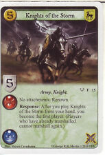 3 x Knights of the Storm AGoT LCG 1.0 Game of Thrones Kings of the Storm 15
