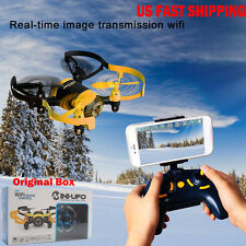 JXD 512W Mini RC Helicopter Drone UFO WiFi FPV with 0.3MP Camera Headless Mode
