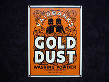 +++ FAIRBANK'S GOLD DUST - EMAILSCHILD aus USA - Original - 80'er Jahre !