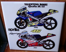 Valentino Rossi Aprilia RS 125 ~1996 and 1997~ Ceramic Tile