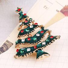 Mode Brosche Weihnachtsbaum Tannenbaum Anstecknadel Böhmen Weihnachten AU