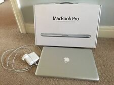 "Apple MacBook Pro 15.4"" fines de 2011 Modelo-actualizado a 8GB de RAM, almacenamiento 500GB"