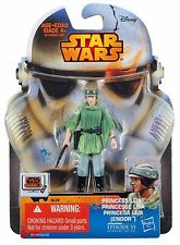 "PRINCESS LEIA ( ENDOR OUTFIT ) VHTF ( 3.5"") STAR WARS REBELS EP.VI ACTION FIGURE"