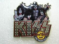 SAN FRANCISCO,Hard Rock Cafe Pin,KISS Signature Series