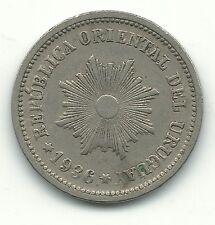 A VERY NICE HIGH GRADE 1936 URUGUAY 2 CENTESIMOS COIN-MAY371