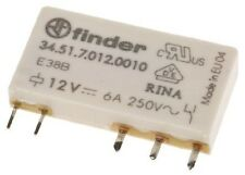 Finder 3451.7012.0010 SPDT PCB Mount Non-Latching Relay, 12V dc Coil 6A