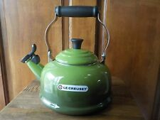 Le Creuset  SPINACH (Green) Whistling Tea Kettle  1.7 Qt / 1.6 L In Box