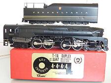 """KEY IMPORTS """"CLASSIC"""" HO PENNSYLVANIA RAILROAD (PRR) T-1A DUPLEX 4-4-4-4 #5547"""