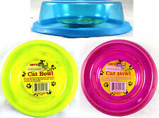 Cat or Small Animal New Non-spill Pet Bowl with rubber bottom