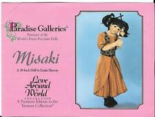 "Paradise Galleries - 30"" Misaki By Linda Murray , COA & OB's new in box"