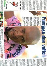 Ga40 Ritaglio Clipping del 2000 Marco Pantani l'uomo che vinse due volte