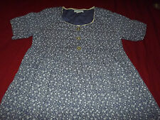 MATERNITY WEE EXPECTATIONS FLORAL TOP sz S