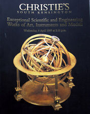 Christies Scientific & Engineering Instruments & Models 4/9/1997 Rare Thick