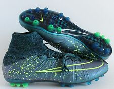 Nike Mercurial Superfly AG-R SQUADRON BLUE-BLACK-VOLT SZ 12.5 [717138-440]